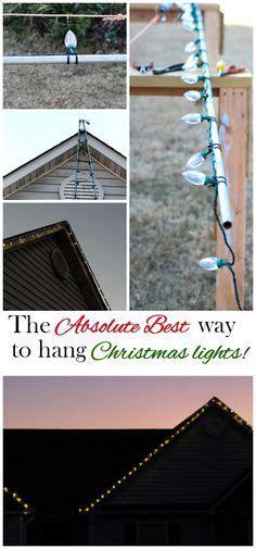 easy way to hang outdoor christmas lights hanging christmas lights the easy way hanging christmas