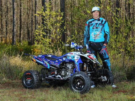 atv motocross 2015 yamaha announces 2015 atv race team atv illustrated
