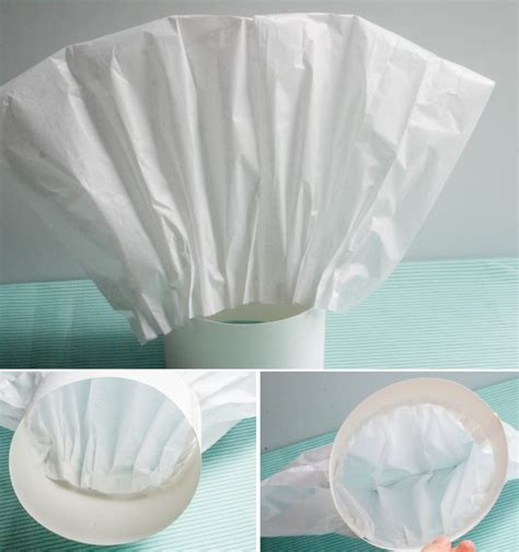 How To Make Chef S Hat With Paper - ruff draft how to make a tissue paper chef hat anders