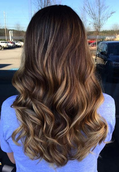 ombre bunette blonde brunette on bottom soft brunette ombre balayage highlights hairstyles