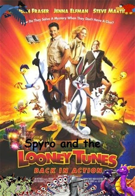 spyro and the looney tunes: back in action   spongebob