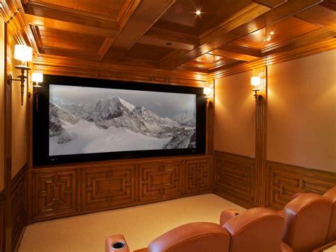 high  home theater designs hgtv