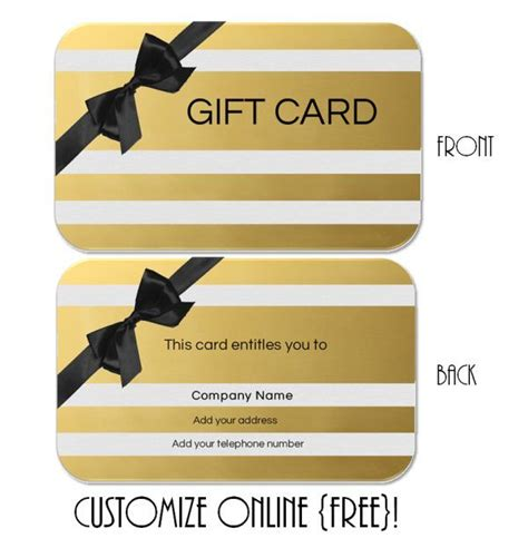Printable Gift Cards Online - 25 unique printable gift certificates ideas on pinterest gift certificates free