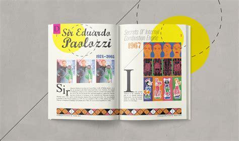 design magazine history design history magazine pop art on behance