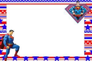 invitaciones de cumplea 241 os de superman imprimibles
