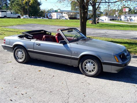 Ford Mustang 5 0 For Sale by 1985 Ford Mustang 5 0 Lx Fox Convertible For Sale