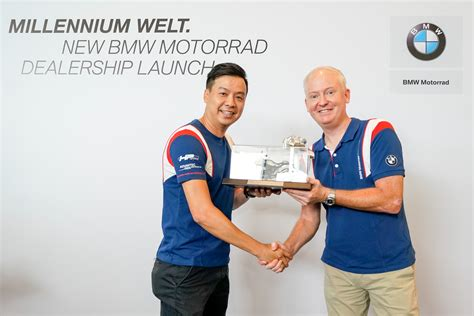 Bmw Motorrad Malaysia Dealer by Millennium Welt Opens New Bmw Motorrad Dealership In