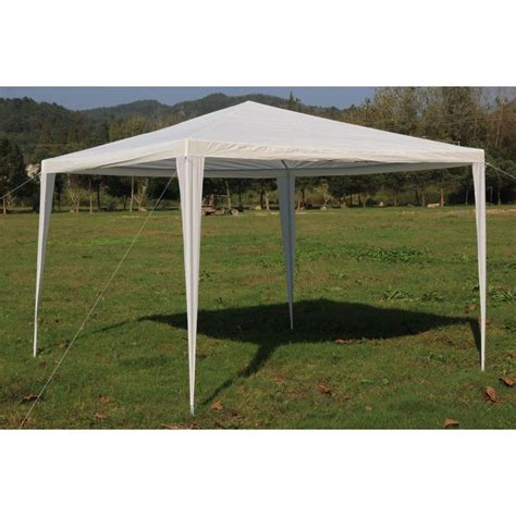 portable patio gazebo outdoor portable gazebo marquee tent in white 3x3m buy 3x3m