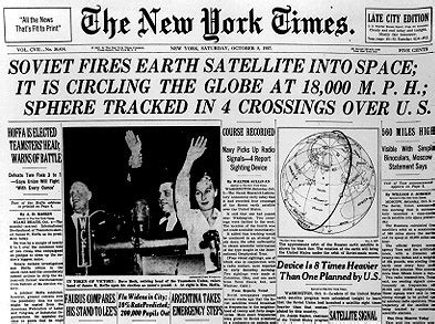 nyt science section sputnik turns 50 nyt science section pays homage boing