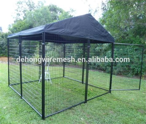 outside kennels cheap outdoor large cheap run kennel with cover china manufacturer iso9001 buy