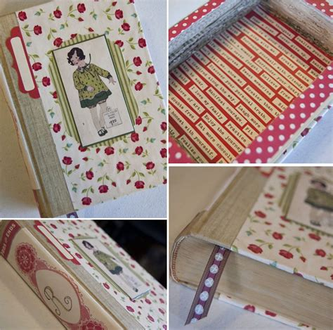 How Do You Make A Book Out Of Paper - thrifty thursday books get new lives cosmo cricket