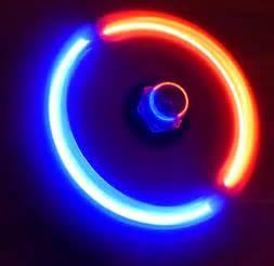how to make a diy led finger fidget spinner techydiy