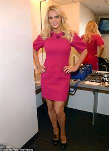 hurts a bit jenny mccarthy gets a large new flowery