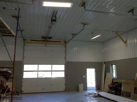 Interior Metal Ceiling Panels by Custom Pole Barn Building Options Interior Exterior