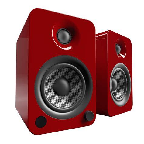 Speaker Crimson kanto living yu4 2 way powered bookshelf speakers yu4gr b h