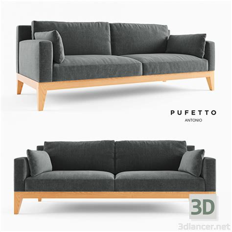 3d model modern sofa in the style of minimalism id 22546