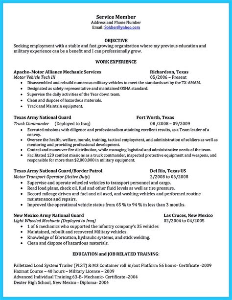 resume format for automobile technician delivering your credentials effectively on auto mechanic resume