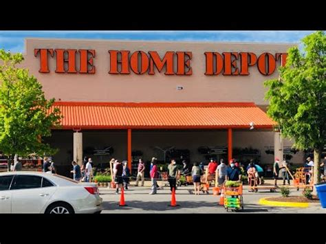 social distancing  home depot  plants