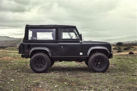 range rover icon land rover defender 90 gets restomodded by icon video