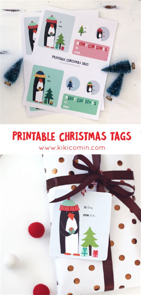 free printable gift tags from organized christmas com free printable christmas gift tags