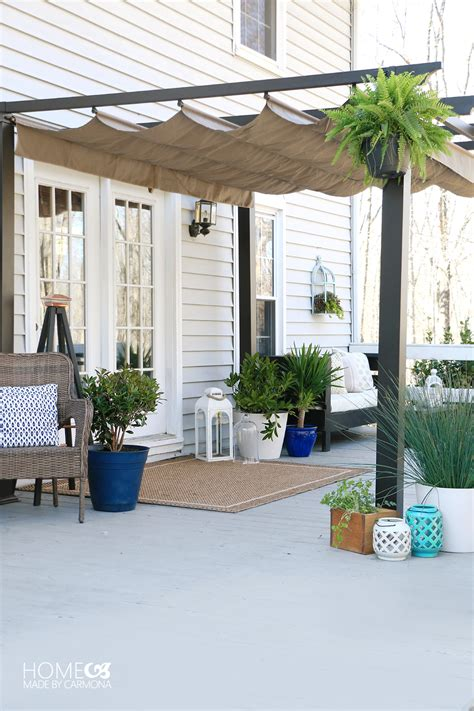 better homes and gardens houses simple patio styling from bare to beautiful home made