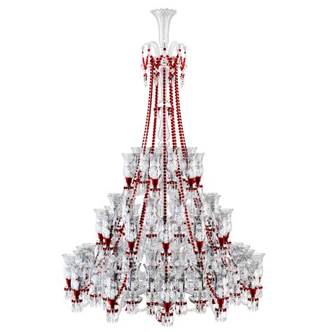 Country French Chandelier Cad And Bim Object Zenith Clear And Red Chandelier 84l