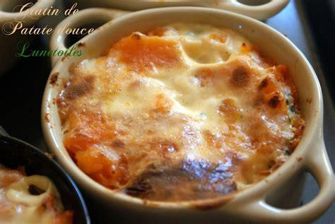 cuisiner patate douce au four petits gratins de patate douce amour de cuisine