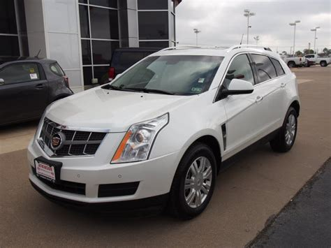 White Cadillac Srx by 2010 White Cadillac Srx The Eagle Suv