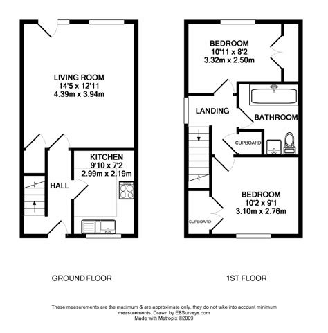 floor plans uk small two bedroom house plans uk