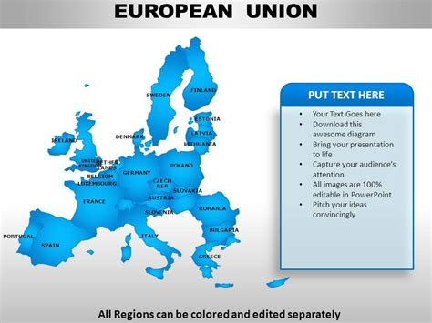 powerpoint templates free download european union european union continents powerpoint maps template