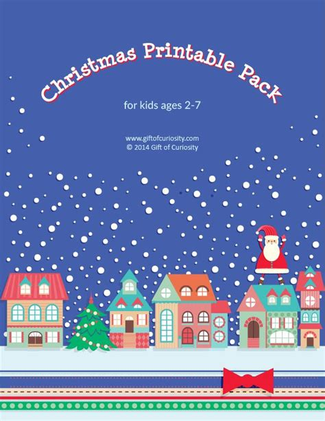 printable christmas activity pack 219 best christmas worksheets printables for kids images