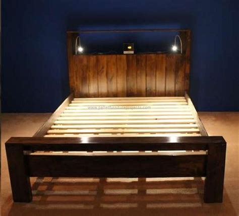diy wood bed frame diy pallet bed plans pallet furniture projects