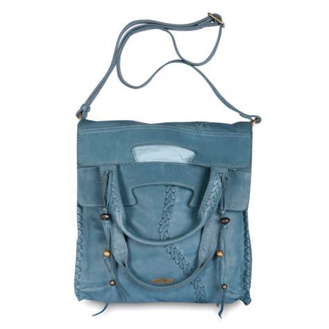 Branded Lucky Brand lucky brand get laced fringe crossbody bag blue
