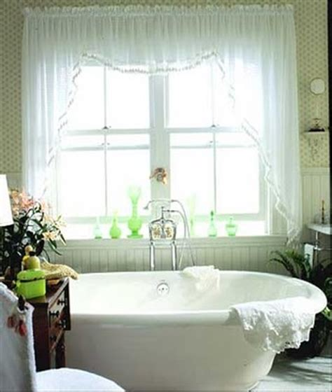 cottage curtain ideas wonderful cottage curtain designs for bathrooms