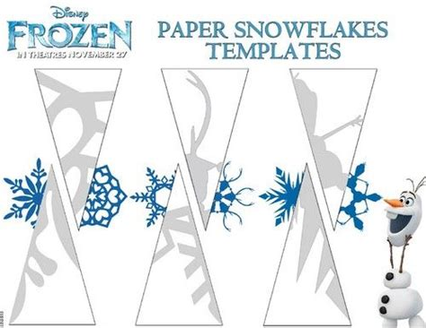 printable diy snowflakes free frozen snowflake patterns and coloring sheets