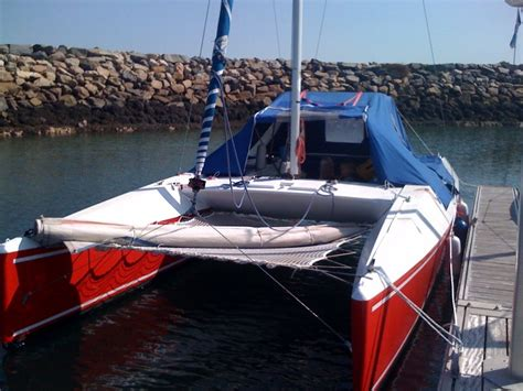 catamaran bois epoxy a vendre catamaran french cat 7 10m