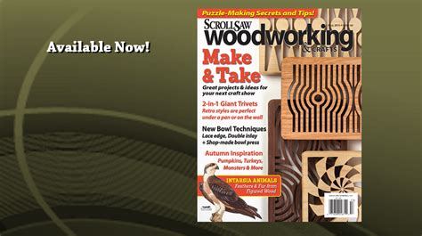 scroll  woodworking crafts fall  issue
