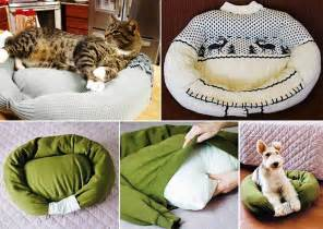 Is Your Bed Made Is Your Sweater On Diy Sweater Pet Bed Fabdiy