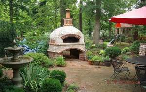 build a brick oven backyard outdoor brick ovens nifty homestead