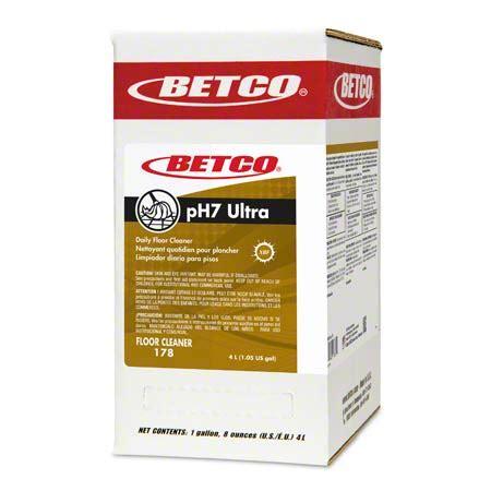 ph7 ultra floor cleaner betco 174 ph7 ultra green earth 174 ii floor cleaner 4 l