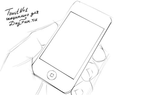 I Phone Sketches by How To Draw Iphone 6 Step By Step Arcmel