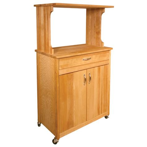 Catskill Craftsmen Kitchen Island by Deluxe Microwave Cart Catskill Craftsmen Inc Serving