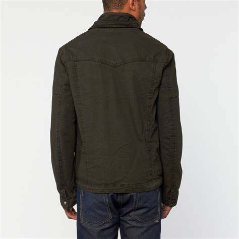 Ottoman Jacket Ottoman Collar Jacket Slate S Excelled Apparel Touch Of Modern
