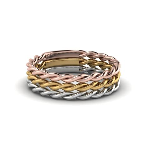 Rope Wedding Bands by Wedding Band Classic Gold Wedding Bands Fascinating