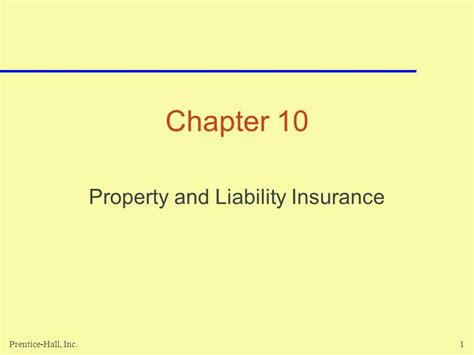 house liability insurance property and liability insurance ppt video online download