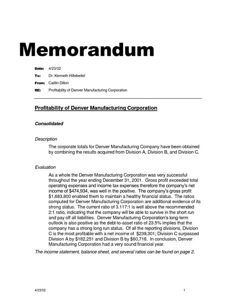 tax research memo template 10 best images of accounting memo template accounting