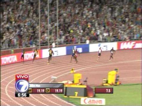 imagenes motivadoras atletismo usain bolt final carrera 200 metros plano mundial
