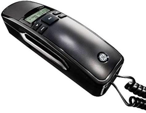 Ge Help Desk Phone Number by Ge General Electric 29281fe1 Corded Slimline Phone Black