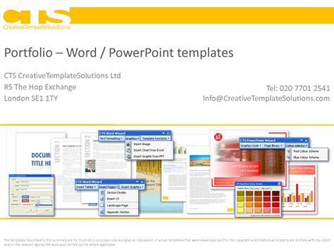 powerpoint portfolio template best photos of word template professional portfolio