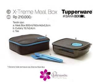 Tupperware X Treme Meal Box Kotak Bekal xtrx treme meal box tupperware indonesia promo terbaru